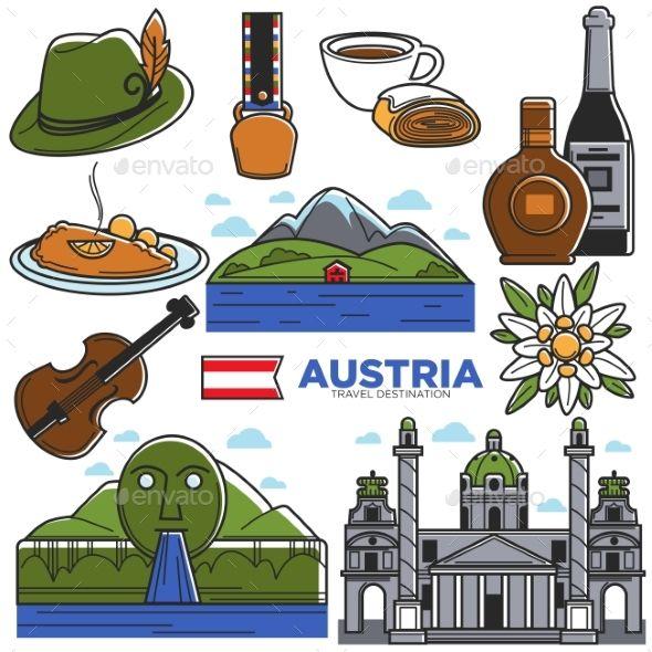 Austria Tourism Travel Landmarks