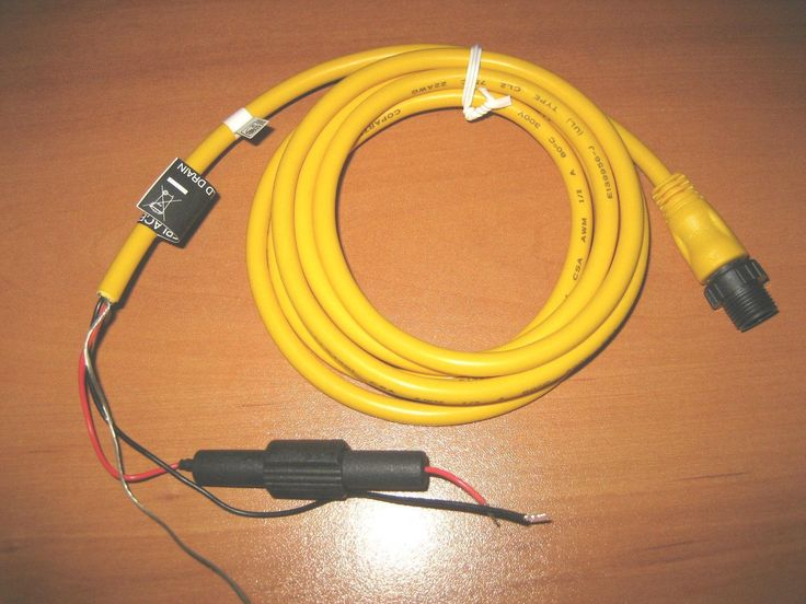 Garmin NMEA 2000 Power Cable 320-00389-00 / 010-11079-00
