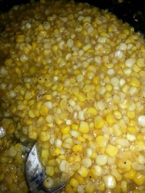 Momma's Southern Fried #Corn recipe - cooked in #Bacon Fat