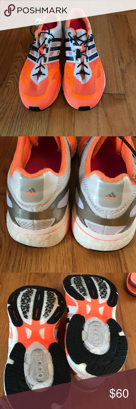 Adidas Boost running shoes size 9 Very good condition. Worn only twice Adidas Shoes Sneakers