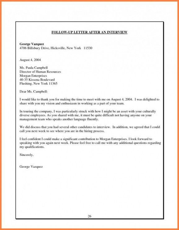 Best Business Follow Up Email Template Doc Example In 2021 Letter Template Word Email After Interview Letter After Interview