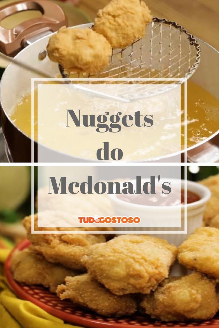 A receita e o segredo dos nuggets do Mcdonald's!