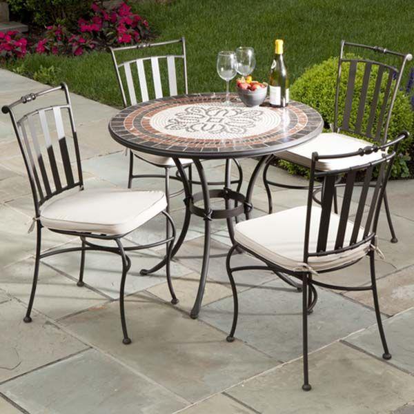 Outdoor Cafe Tisch Und Stuhle Tisch Und Stuhle Schmiedeeiserne Gartenmobel Terrassen Stuhle