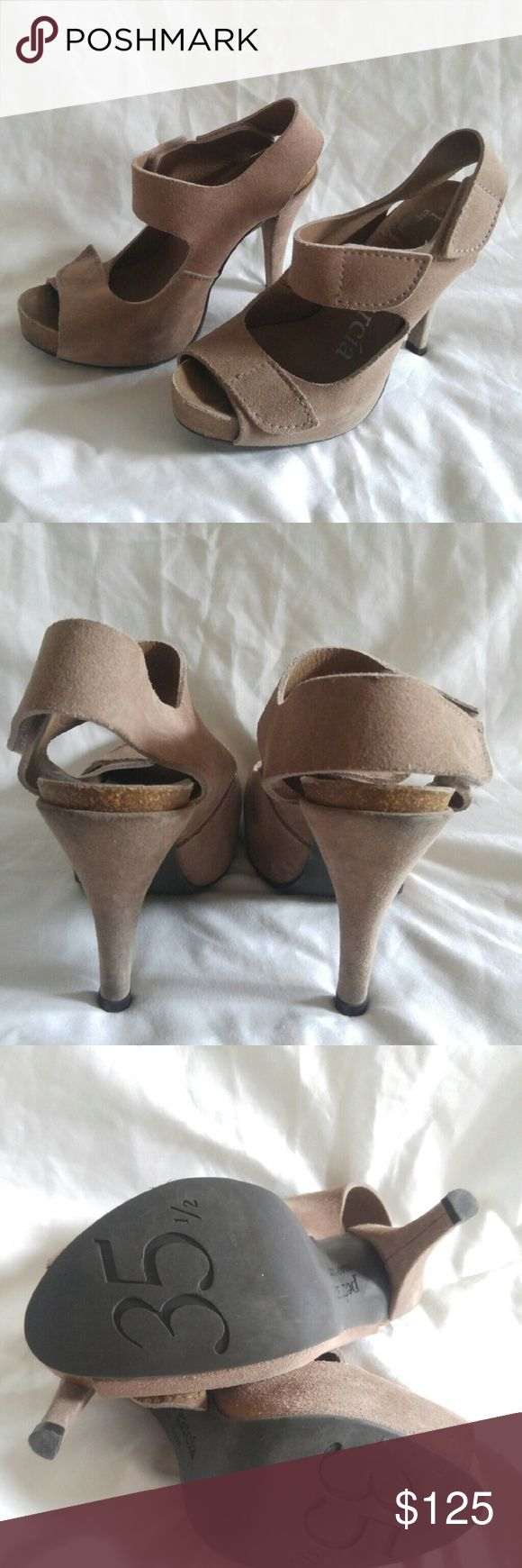 Pedro Garcia Charlize Sandal Size 35.5 3 inch high heel by Pedro Garcia. In like new condition. size 35.5. Pedro Garcia   Shoes Heels