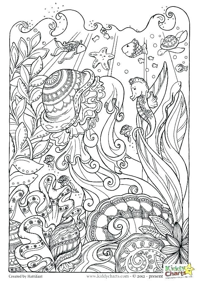26++ Beach hard summer coloring pages ideas