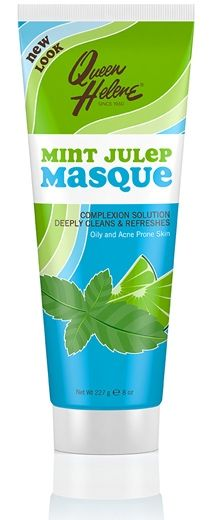 Queen Helene Mint Julep Masque - Our original, all-time favorite green masque instantly absorbs excess oil, extracts impurities and helps minimize the appearance of pores. After use, skin is deeply clean with a fresh oil-free feel and healthy looking complexion. Leaping Bunny Certified.