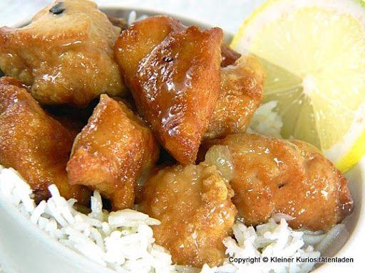 Kleiner Kuriositätenladen: Chinesisches Zitronenhühnchen
