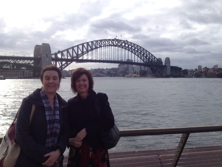 Aunties at the harbour bridge