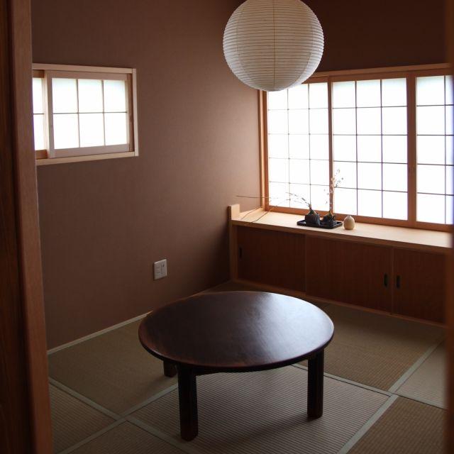 yurieさんの、リビング,和室,ちゃぶ台,個室,障子,注文住宅,のお部屋写真