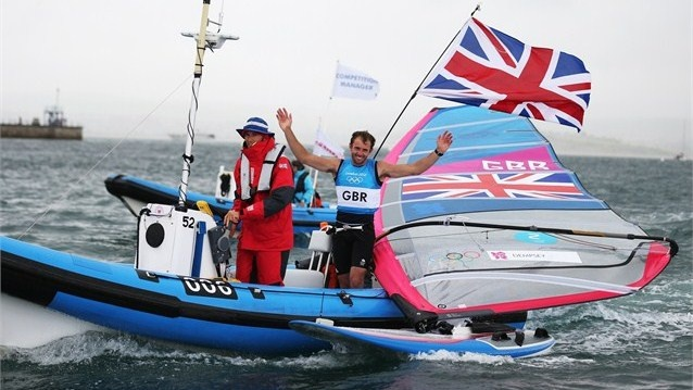Nick Dempsey (GB) - sailing - Olympics Day 11