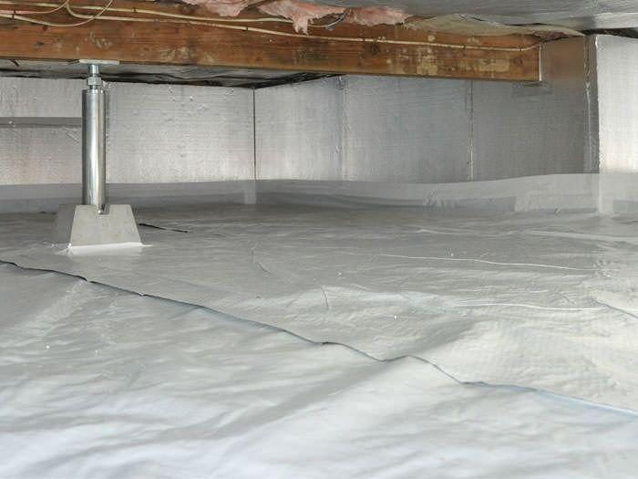 crawl space concrete floor