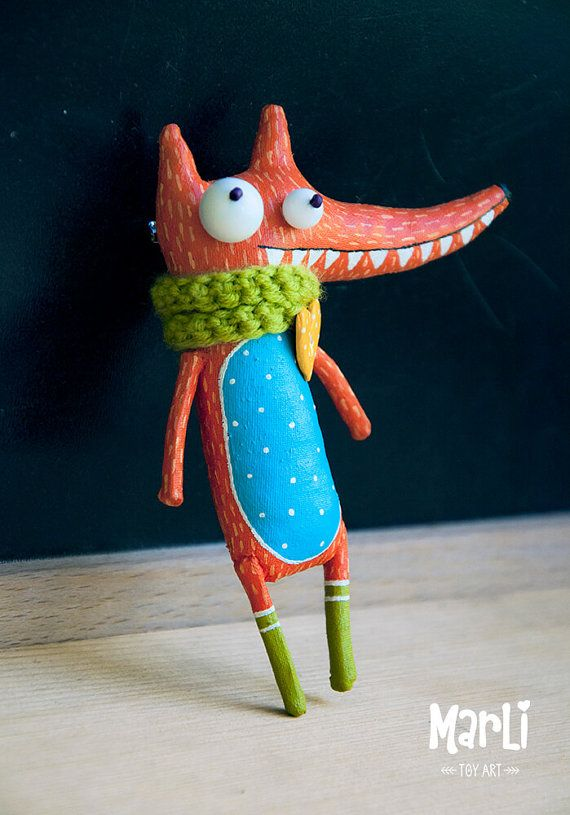 fox dreamer by MarLitoys on Etsy