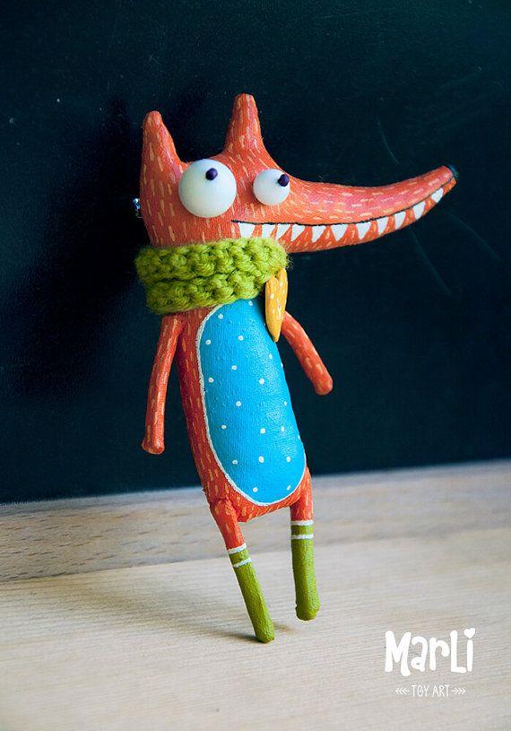 fox dreamer by MarLitoys on Etsy