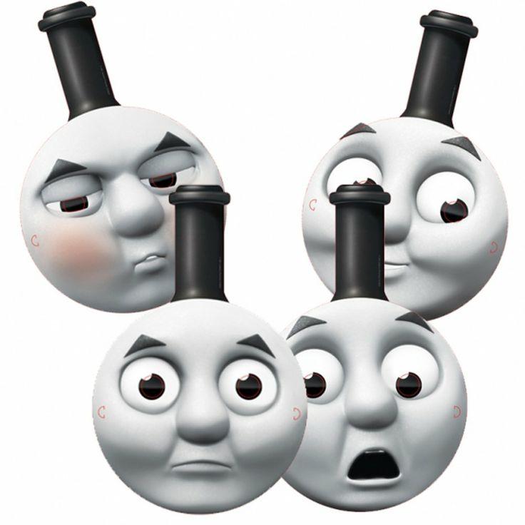 Thomas & Friends Party Masks