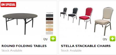 Get smart and use high class and highly useful round folding tables ideal for your indoor as well as outdoor usage. Australian Slimline Trestles offers you highly durable and rubber edge table in different colors and amazing price.