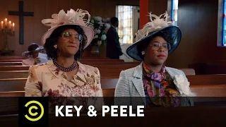 Key & Peele - Georgina and Esther and Satan - Uncensored - YouTube