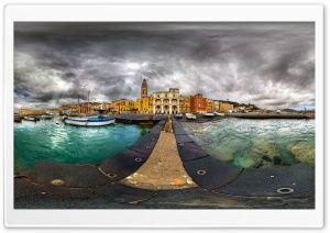 Fisheye Panoramic Photography
