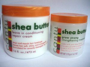 Shea Butter Leave In Conditioning Repair Cream 473Ml + Gro Strong Strengthening Treatment by Cantu. $19.49. Cantu Shea Butter Leave In Conditioning Repair Cream 473 Ml: Cantu Shea Butter Leave In Conditioning Repair Cream Is Made With Real Shea Butter And Essential Oils To Replace Vital Oil In Your Hair Leaving It Stronger And Healthier With A Natural Shine. Cantu Shea Butter Leave In Conditioning Repair Cream Can Be Used On Wet Hair As An Intensive Moisturizing Treatmen...