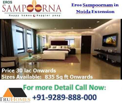 Eros the superb builder has developed their amazing residential and  homes Eros Sampoornam at well-connected and luxury…