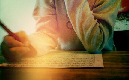 """The Homework I Wish My Child Brought Home From School -- a beautiful reminder that we need """"more childhood and less homework"""", and this also applies to kids schooled at home."""