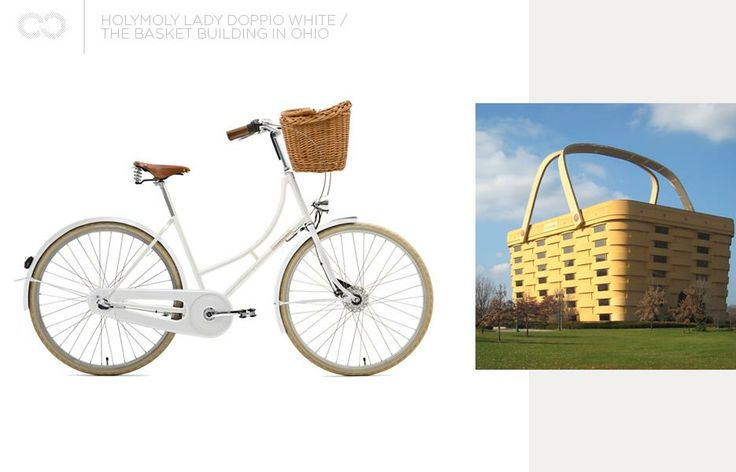 Creme Holymoly Lady Doppio White + the Basket Building  #bike #creme #cycles #cremecycles #cycling #ride #mybike #freedom #lifestyle #art #life #love #city #cyclingphotos