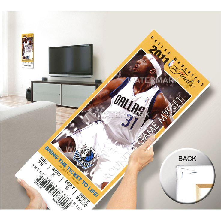 2011 NBA Finals Mega Ticket - Game 3, Terry - Dallas Mavericks - $63.99