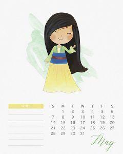 Formal calendar, May 2016