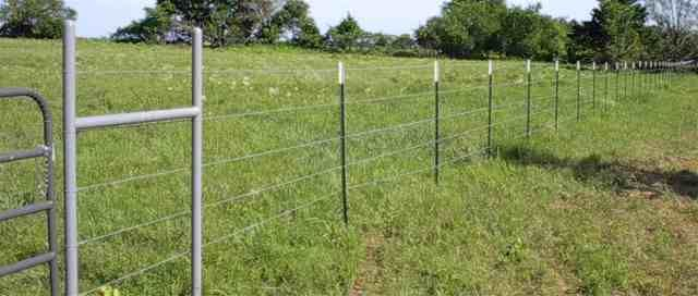 Five Strand Barbed Wire Fence Farm Home Amp Ranch