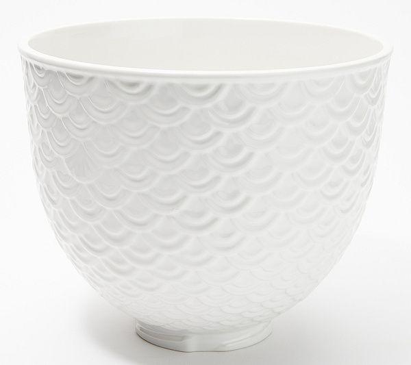 Download Wallpaper Kitchenaid Mixer White Porcelain Bowl