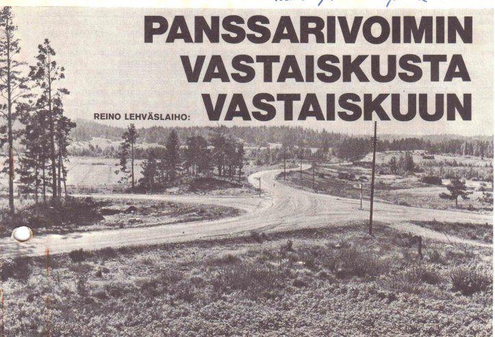 4-tien risteys Portinhoikka Portinhoikka, 4-tien risteys oli merkittävä taistelupaikka kesäkuussa 1944, täällä Rynnäkkötykkikomppaniat Sturmeilla sekä JR 48 että Puroman JP 3 joukot ottivat tiukasti 25-26.6 yhteen 45. Kaartin Divisionan joukkojen kanssa. Suomalaiset rynnäkkötykit tuhosivat kaikkaan 26 vaunua. Kaikkiaan suomalaiset tuhosivat tässä taistelussa 38 vaunua, 4-5 epävarmaa tapusta ja 8-9 lähes ehjänä haltuunsaatua.