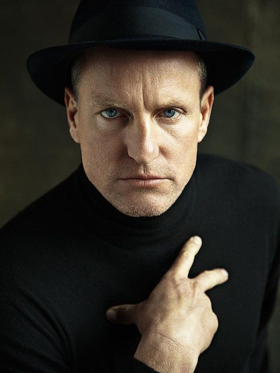 ♂ Man portrait face of Woody Harrelson by Jim Wright