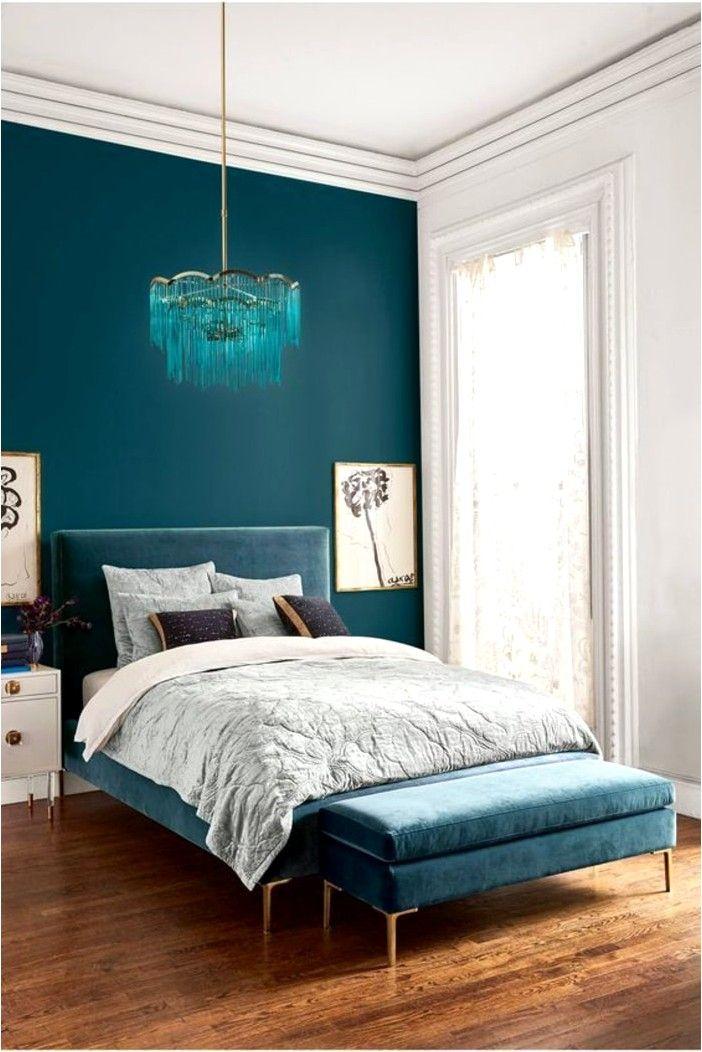 deco chambre bleu canard et lin deco