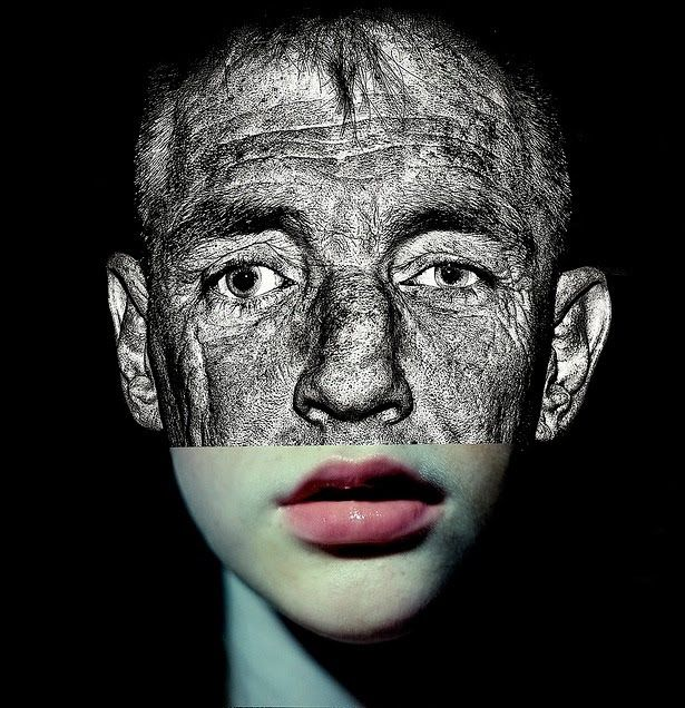 Faces by Brett Walker, Looks like Jordan Poss as an older man
