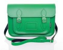 Zatchels Green Leather Satchel