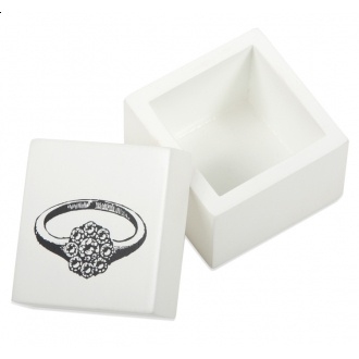 Get her a ring box to store all the rings you have already gotten her