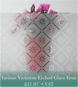 types of frosted glass