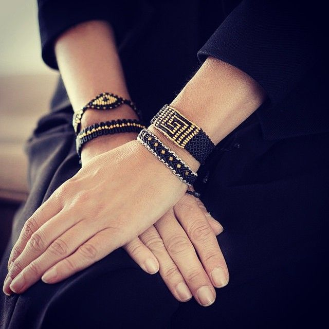 bracelets by Zoe Kompitsi > bit.ly/ZoeKompitsi