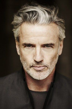Silver fox beard > older men can be very handsome!