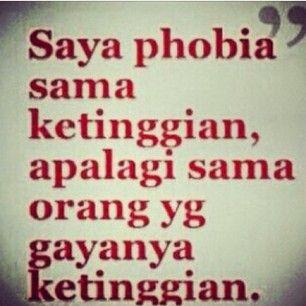 phobia ketinggian :p
