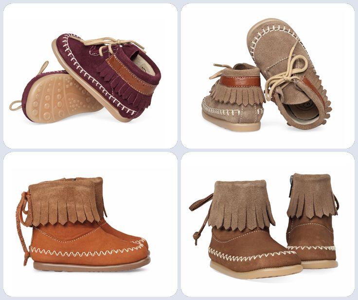 Op zoek naar eerste loop schoentje? Kijk dan eens naar deze Don't Disturb schoentjes in Indiaanse Mocassin stijl, top toch?  Hier te vinden: http://www.mooieschoenen.nl/don-t-disturb/