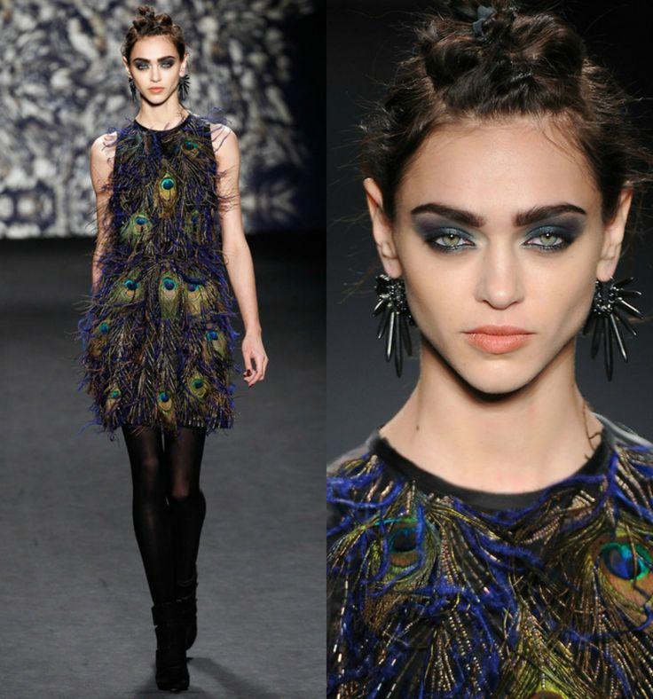 Catwalk Makeup, Zhenva Katava for Nicole Miller