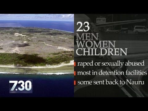 Raped On Nauru Video Captures Moment Somali Refugee Pleads For Help From Police After Alleged