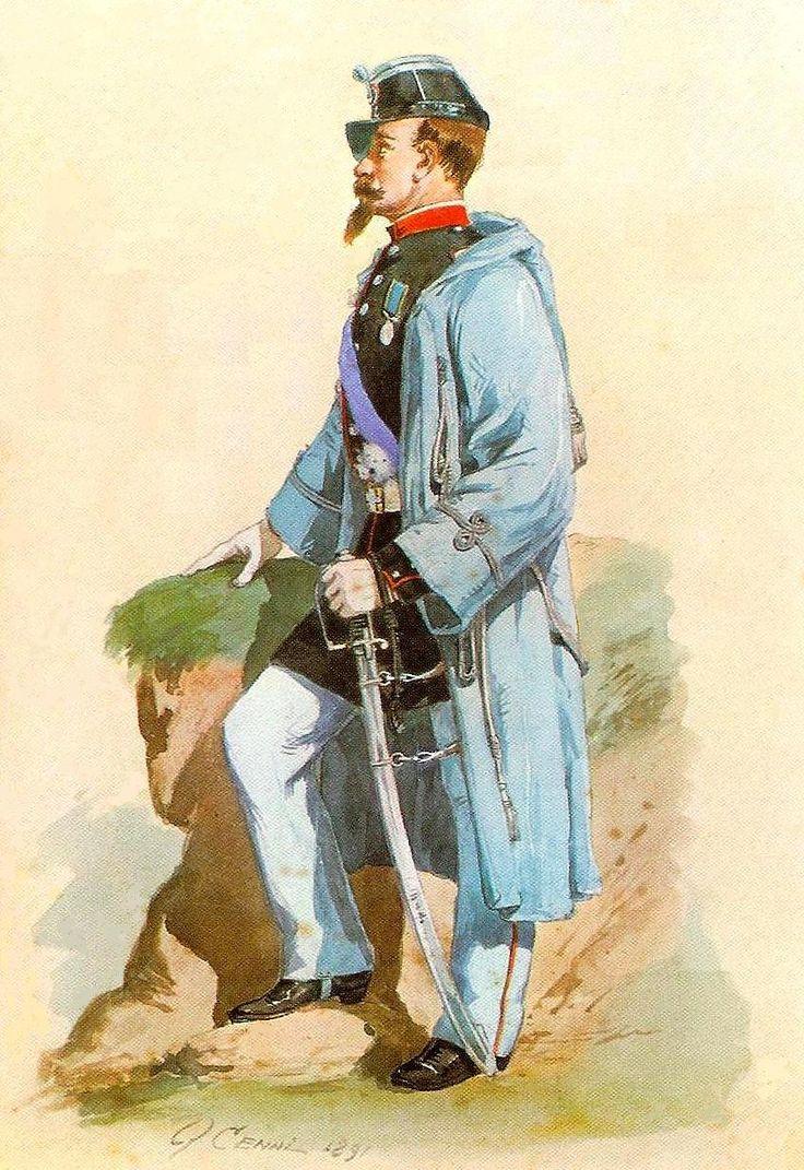 1850 Uniformi del Regno di Sardegna poi Regno d'Italia