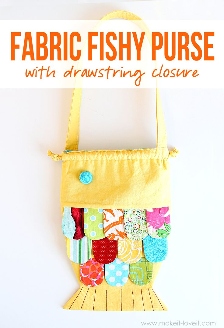 diy how to make a purse with fabric
