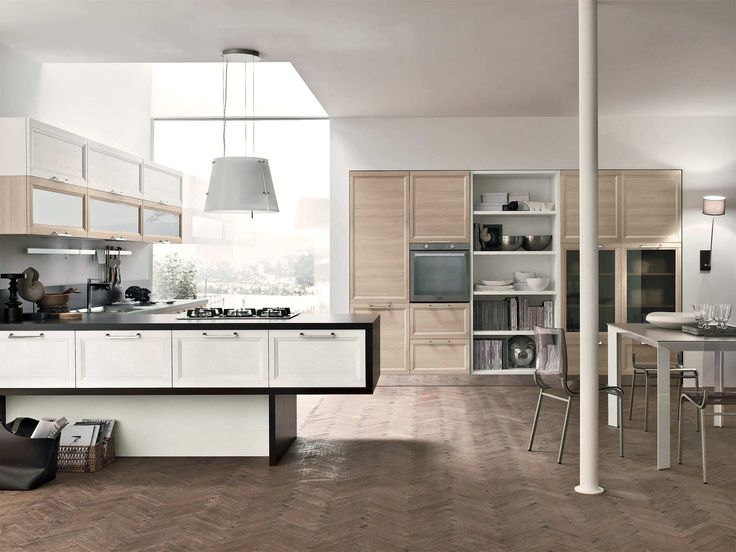 15 best Idee arredo cucine images on Pinterest | Contemporary unit ...