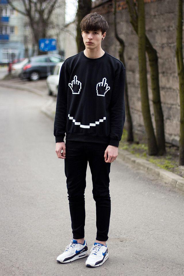 Mens Fashion Black & White