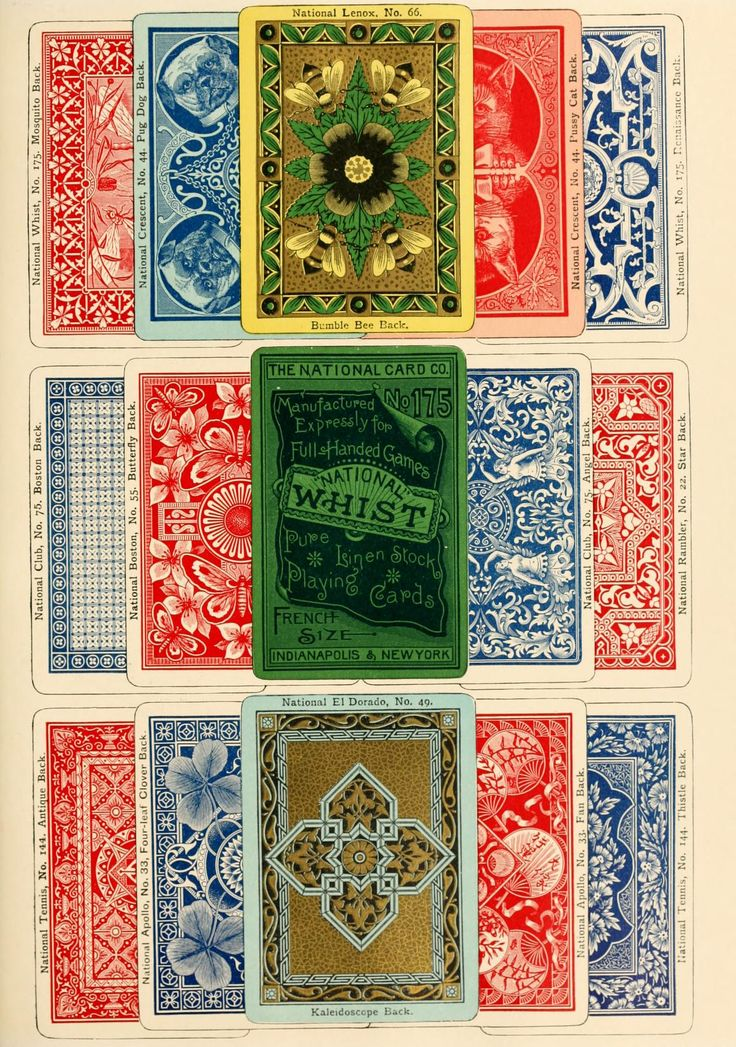 Card Deck With Guidebook By: 81 Best DIY Vintage Playing Cards Images On Pinterest