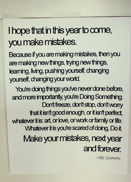 Remember this for the new year..