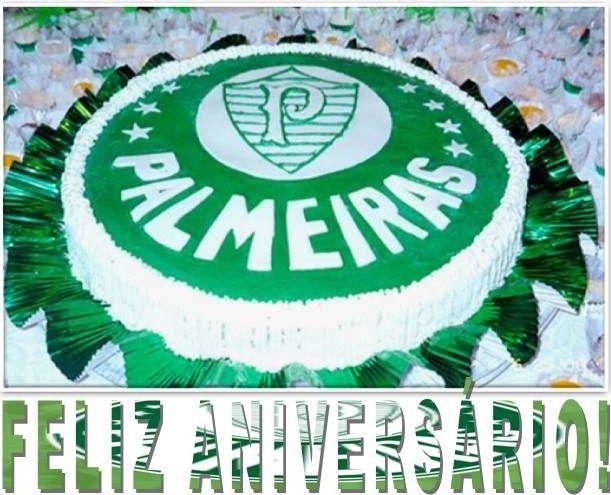 Bolo De Aniversário Com Frases: FELIZ ANIVERSÁRIO - BOLO DO PALMEIRAS