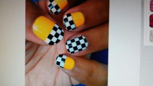 Nascar nail ideas